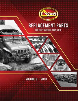 Crown jeep parts