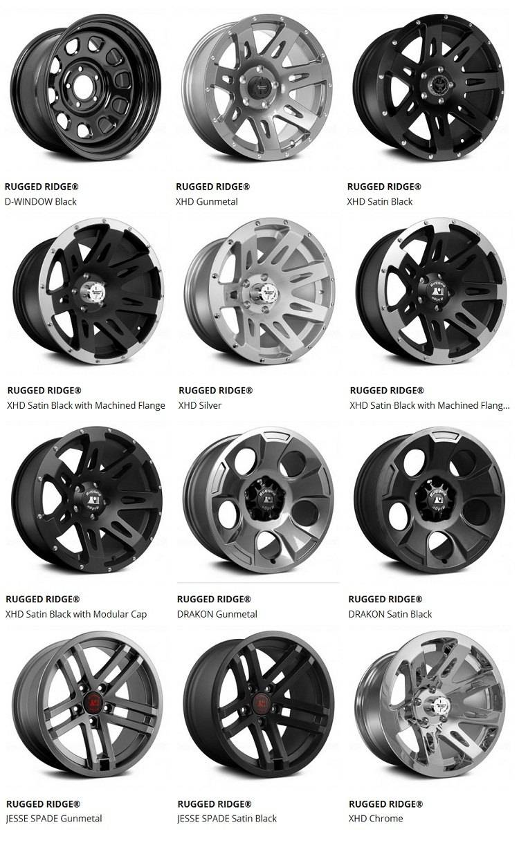 Rugged ridge wheel 2015